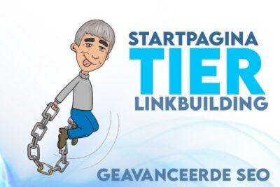 startpagina tier linkbuilding - seo cursus linkbuilden