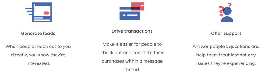 voordelen voor facebook messenger-advertenties