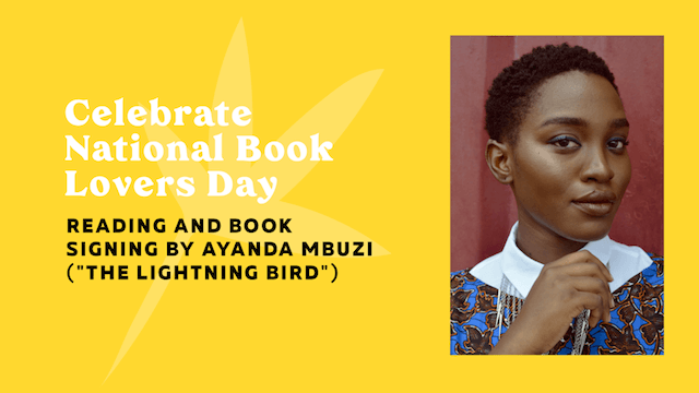 GoDaddy Studio-sjabloon viert nationale dag voor boekenliefhebbers Ayanda Mbuzi