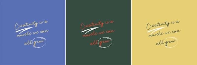 Creativiteit is een spier die we allemaal kunnen laten groeien