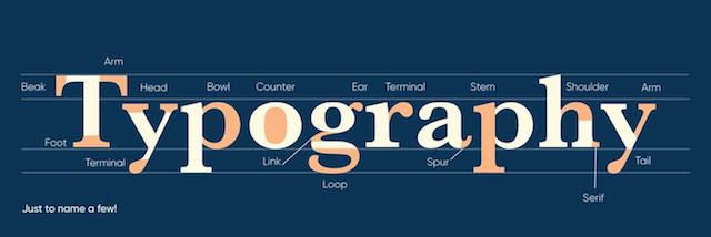 Elementen van typografie uitgelegd