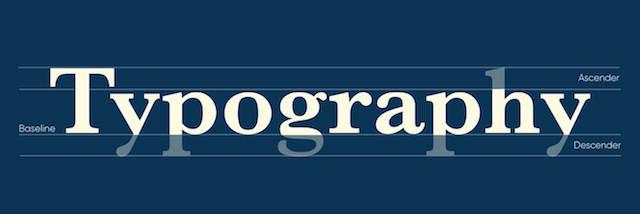 Hoogtepunten van typografie uitgelegd