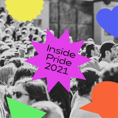 GoDaddy Studio-sjablonen gemaakt voor Pride 2021