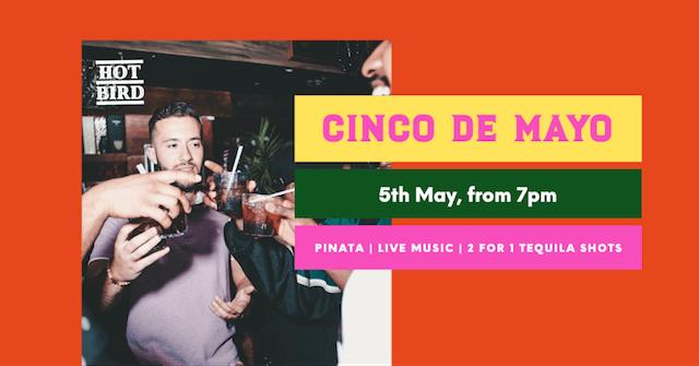 GoDaddy Studio-sjablonen gemaakt voor Cinco de Mayo
