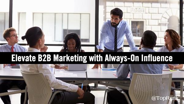 Always-On B2B influencer-marketing