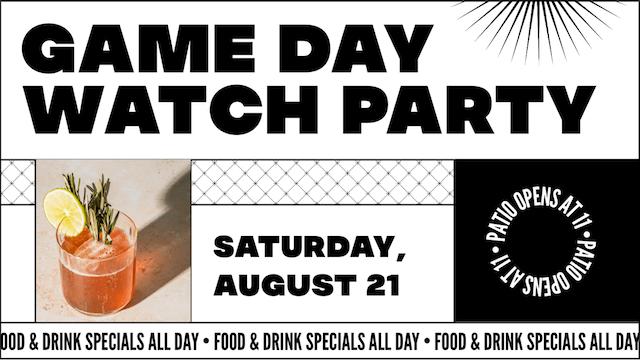 Game Day bekijk sociale feestadvertentie gemaakt met GoDaddy Studio