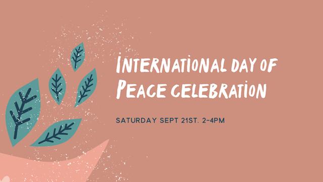 Sociale advertentie voor Internationale Dag van de Vrede