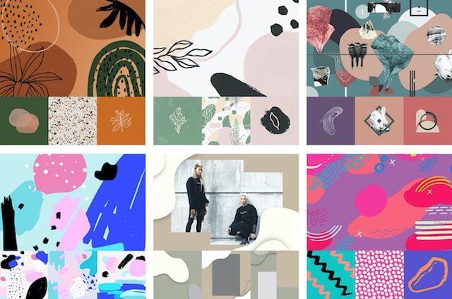 Organische afbeeldingen in GoDaddy Studio