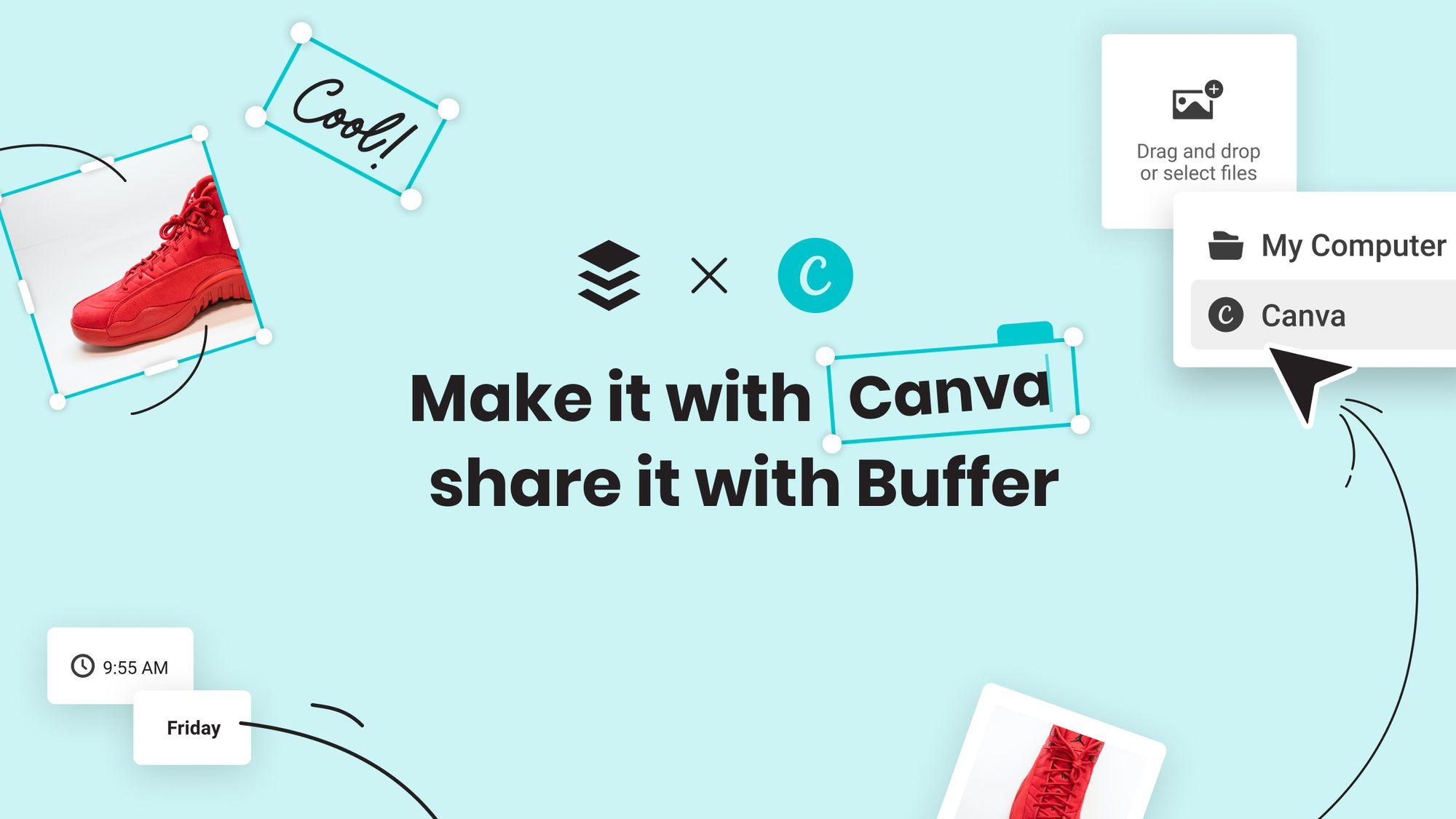 Maak kennis met onze Canva-integratie: ontwerp en deel onmiddellijk visuele inhoud