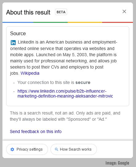 Google Afbeelding A