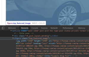 Afbeeldingscontainers aanpassen