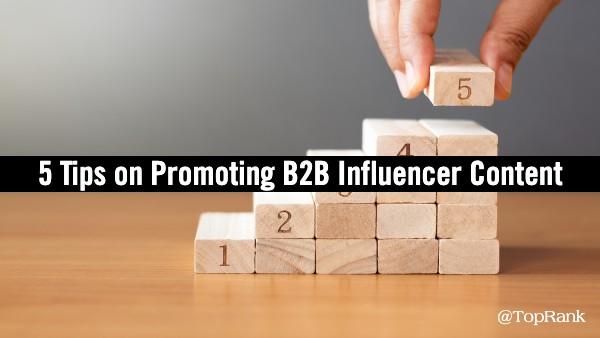 5 tips Promoot B2B-influencercontent