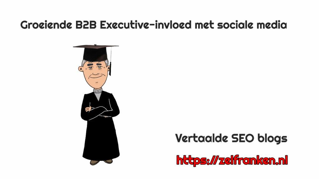 Groeiende B2B