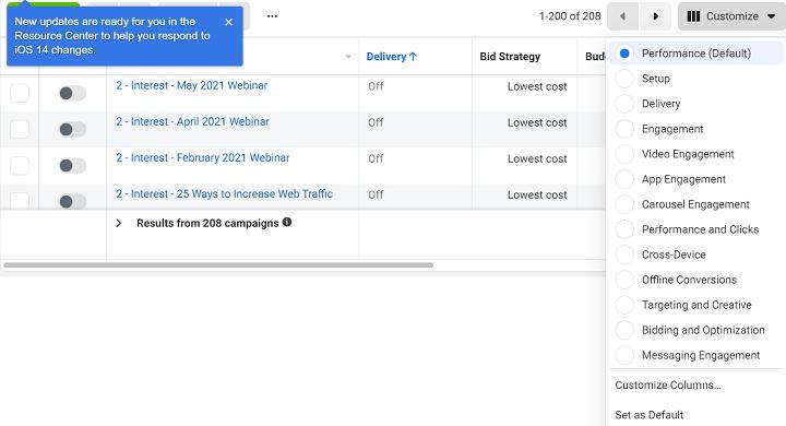 aangepaste kolommen maken voor ppc-rapportage in Google Ads