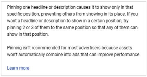 Google heeft uitgebreide tekstadvertenties stopgezet - waarschuwing over overmatig vastzetten met RSA's
