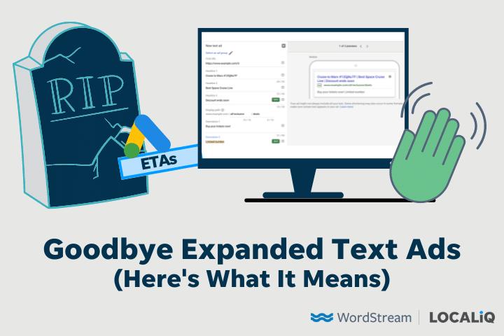 RIP uitgebreide tekstadvertenties