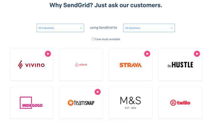 voorbeeld van klantbetrokkenheidsstrategie: casestudy's van sendgrid