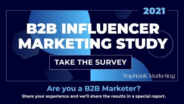 B2B Influencer Marketing Enquête