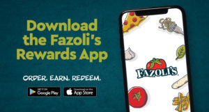 Fazoli's beloningen