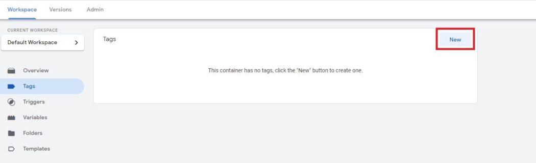 Google Analytics WooCommerce Nieuwe tag